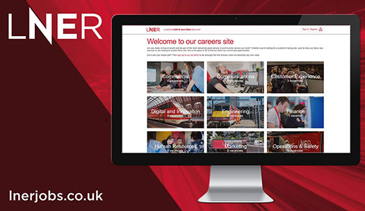 LNER careers website
